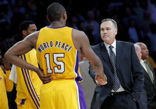 Mike D&#039;Antoni, Metta World Peace
