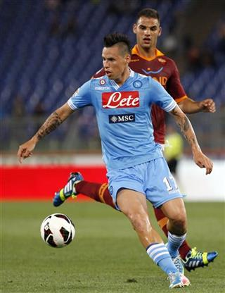 Marek Hamsik Panagiotis Tachtsidis