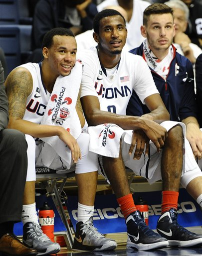 Shabazz Napier, DeAndre Daniels, Enosch Wolf