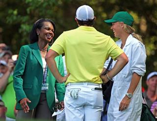 Condoleezza Rice, Rory McIlroy, Caroline Wozniacki