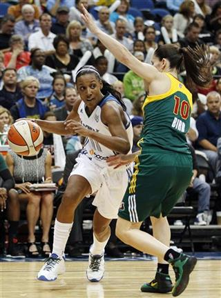 Candice Wiggins, Sue Bird