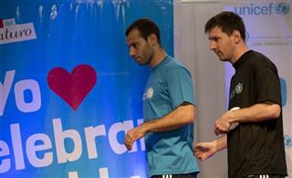Lionel Messi, Javier Mascherano