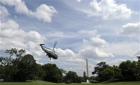 Barack Obama, Marine One