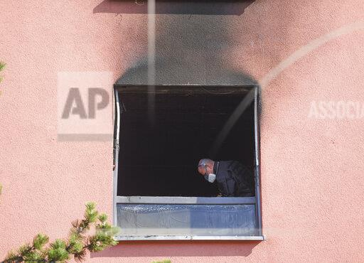 Injured by fire in Frankfurt addiction centre