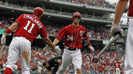 Bryce Harper, Ryan Zimmerman 