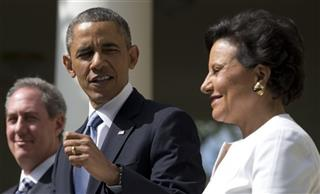 Penny Pritzker, Michael Froman, Barack Obama