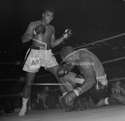 Associated Press Sports California United States Boxing CLAY LOOMS OVER MOORE