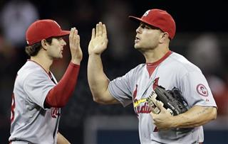 Matt Holliday, Pete Kozma