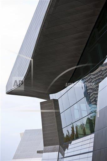 Creative Robert Harding Productions /AP Images A  Bavaria Germany 1161-5757 Modern architecture at the BMW Headquarters office blocks, showroom and customer collection centre in Munich, Bavaria, Germany
