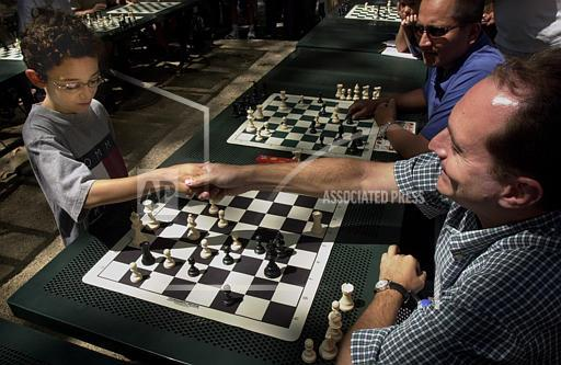 Associated Press Domestic News New York United States Feature CHESS WHIZ