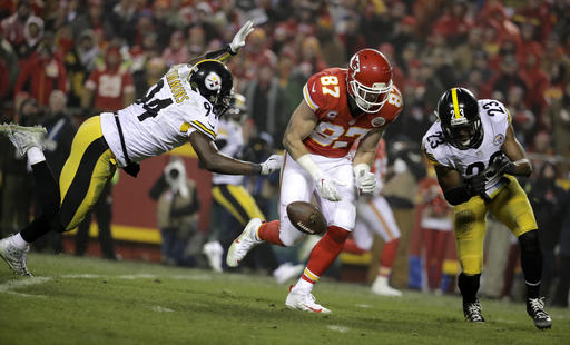 Lawrence Timmons, Travis Kelce, Mike Mitchell