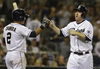 Jedd Gyorko. Everth Cabrera
