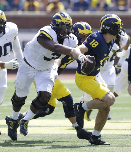 Rashan Gary, Brandon Peters