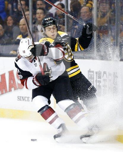 Coyotes Bruins Hockey
