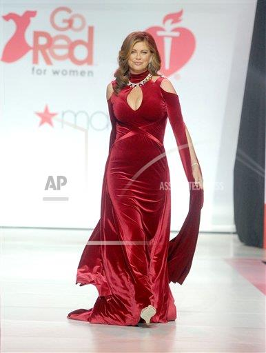 STRMX Star Max/IPx A ENT New York USA IPX Go Red For Women Red Dress Fashion Show in NYC - 2/8/18