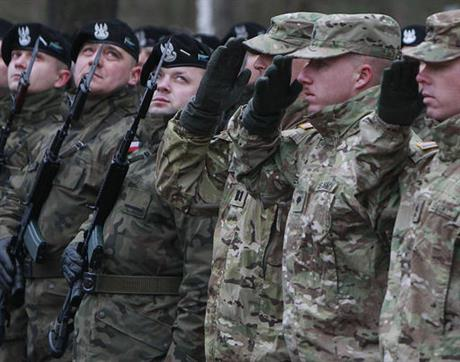 Poland US Troops