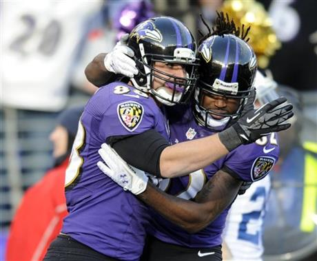 Dennis Pitta, Torrey Smith