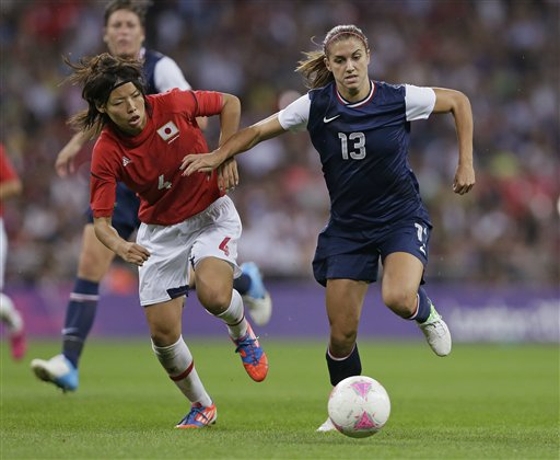 Alex Morgan, Saki Kumagai