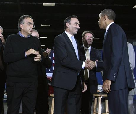 Barack Obama, Josef Kerscher, Sergio Marchionne, James O&#039; Sullivan
