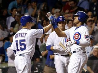 Darwin Barney, Starlin Castro