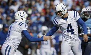 Adam Vinatieri, Pat McAfee