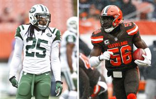 Jets Browns Trade Football