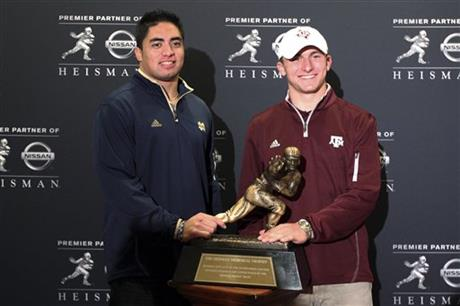 Manti Te'o, Johnny Manziel