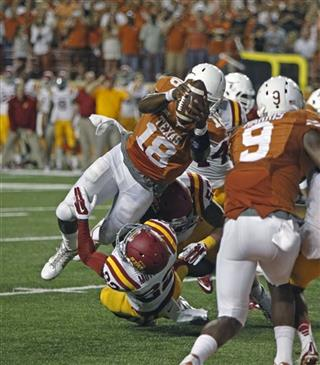 Tyrone Swoopes, T.J. Mutcherson