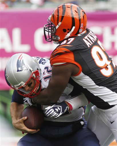 Tom Brady, Geno Atkins