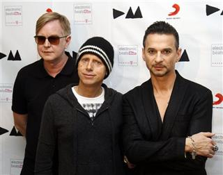 Andrew Fletcher, Martin Gore, Dave Gahan