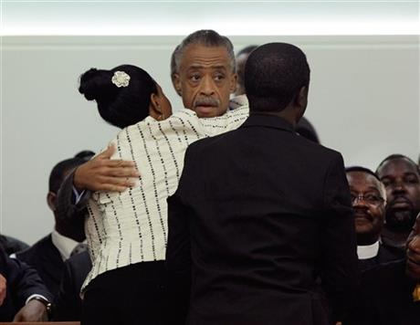 Al Sharpton, Constance Malcolm