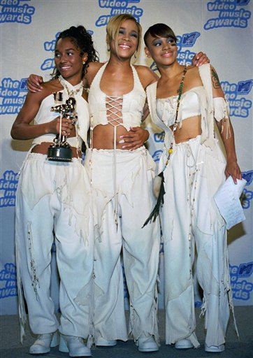"ROZANDA ""CHILLI"" THOMAS TIONNE ""T-BOZ"" WATKINS LISA ""LEFT EYE"" LOPES,"