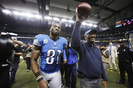 Calvin Johnson Sr., Calvin Johnson jr.
