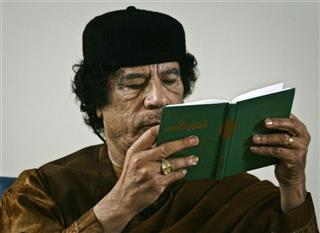 Moammar Gadhafi