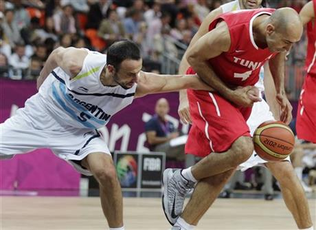 Radhouane Slimane, Manu Ginobili