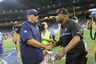 Jim Caldwell, Mike Mularkey