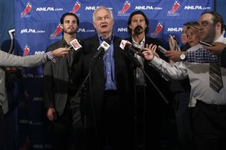 Donald Fehr, Kevin Westgath, George Parros