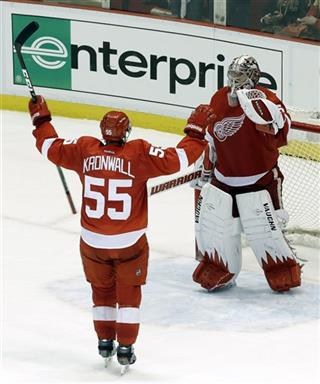 Niklas Kronwall, Jimmy Howard