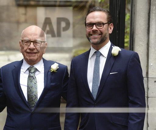 James Murdoch resigns from board of News Corp - 7/31/20