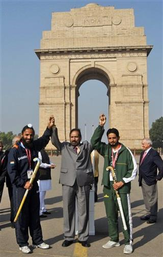 Suresh Kalmadi, Rajpal Singh, Zeeshan Ashraf