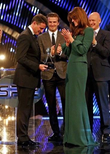 Britain BBC Sports Awards