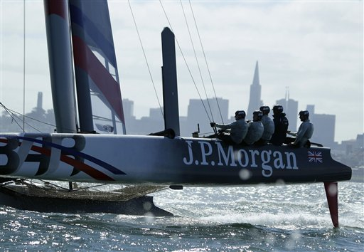 Michael Johnson, Ben Ainslie