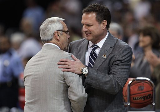 Roy Williams, Bill Self