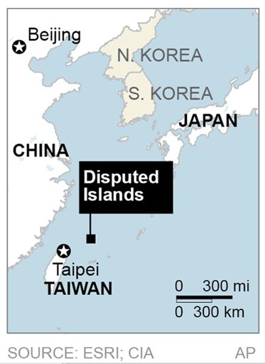 ASIA DISPUTED ISLANDS