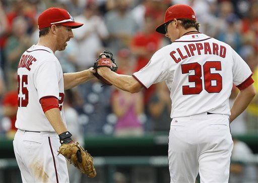 Tyler Clippard, Adam LaRoche