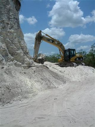 Belize Bulldozed Pyramid