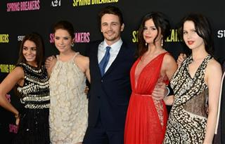 Vanessa Hudgens, Ashley Benson, James Franco, Selena Gomez, Rachel Korine