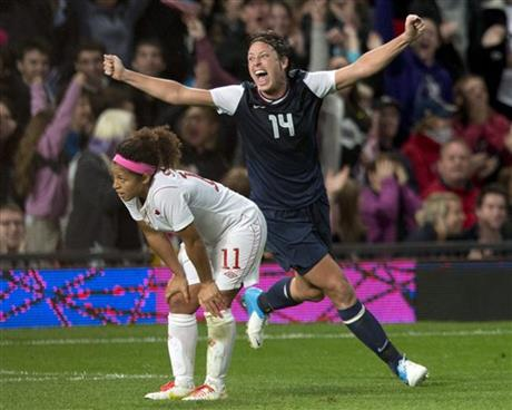 Abby Wambach; Desiree Scott