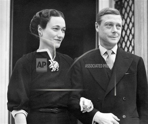 Watchf AP I FILE  FRA APHS383950 Duke and Duchess of Windsor