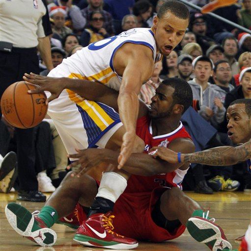 Chris Paul, Stephen Curry, Monta Ellis